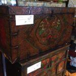 Tibet 1 Antique Trunk $750