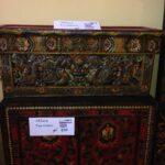 Tibet 8 Folding Table Antique $1000