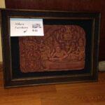 Thai 4 Sandstone Framed Art $100
