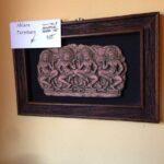 Thai 5 Sandstone Framed Art $55